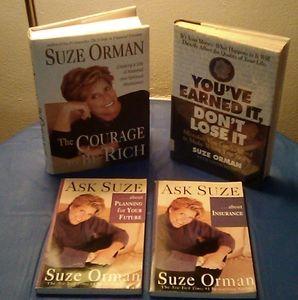 SUZE ORMAN Books